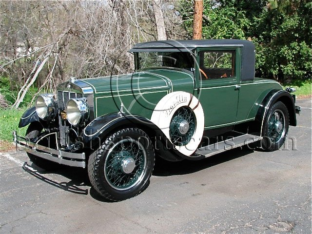 British Sports Cars car search / 1928 Franklin 12-5