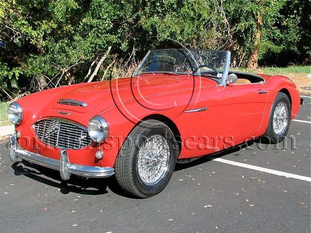 British Sports Cars car search / 1958 Austin-Healey 3000
