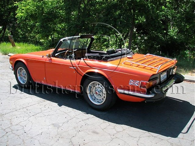 british sports cars 1974 triumph tr6 overdrive for sale british sports cars san luis. Black Bedroom Furniture Sets. Home Design Ideas