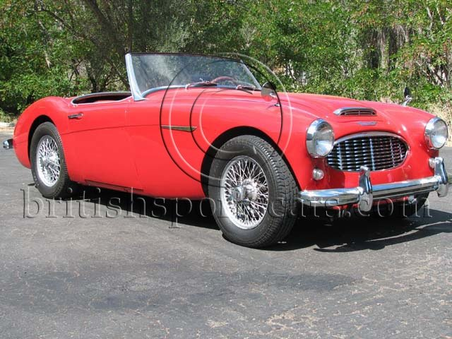 British Sports Cars car search / 1960 Austin-Healey 3000