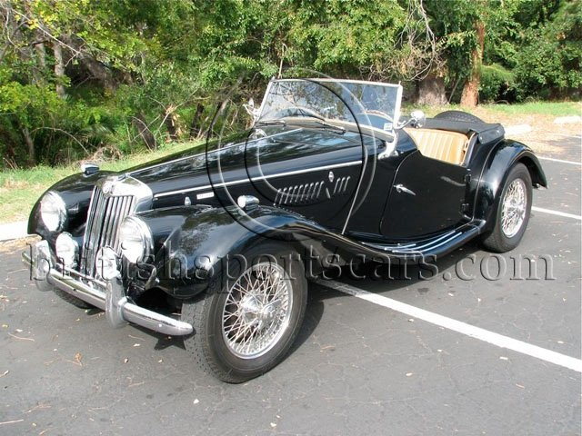 British Sports Cars car search / 1955 MG TF