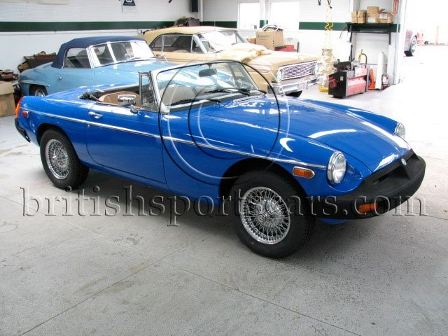 British Sports Cars car search / 1976 MG MGB