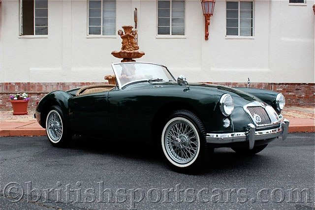 British Sports Cars car search / 1958 MG MGA