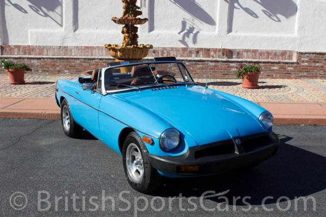 British Sports Cars car search / 1979 MG MGB