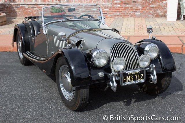 British Sports Cars car search / 1958 Morgan  4
