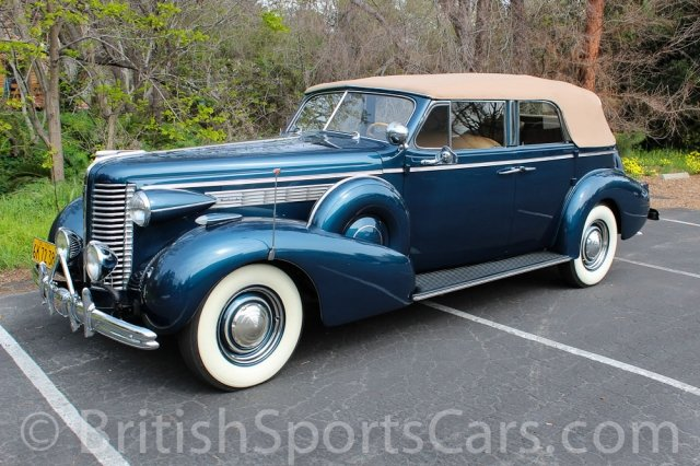 British Sports Cars car search / 1938 Buick Roadmaster