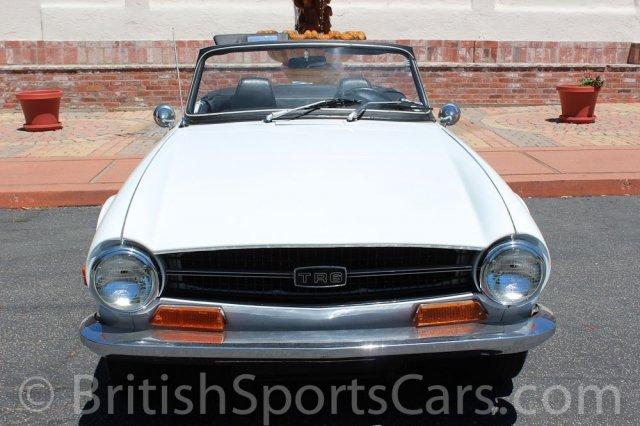 British Sports Cars 1970 Triumph Tr6 For Sale British