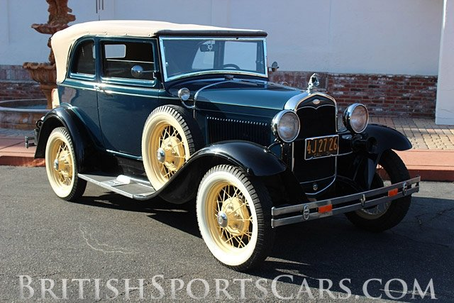 British Sports Cars car search / 1931 Ford Model-A 400A / British Sports Cars / San Luis Obispo / CA / 93401