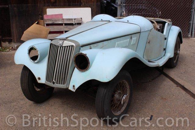 British Sports Cars car search / 1954 MG TF