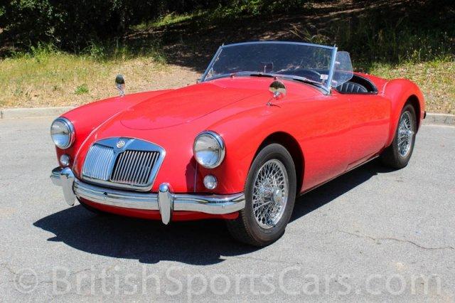 British Sports Cars car search / 1957 MG MGA