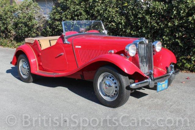 British Sports Cars car search / 1952 MG TD MKII / British Sports Cars / San Luis Obispo / CA / 93401