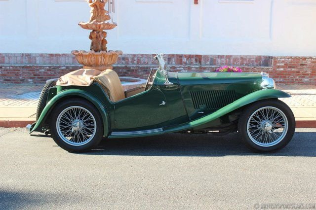 british sports cars 1938 mg ta for sale british sports cars san luis obispo ca. Black Bedroom Furniture Sets. Home Design Ideas
