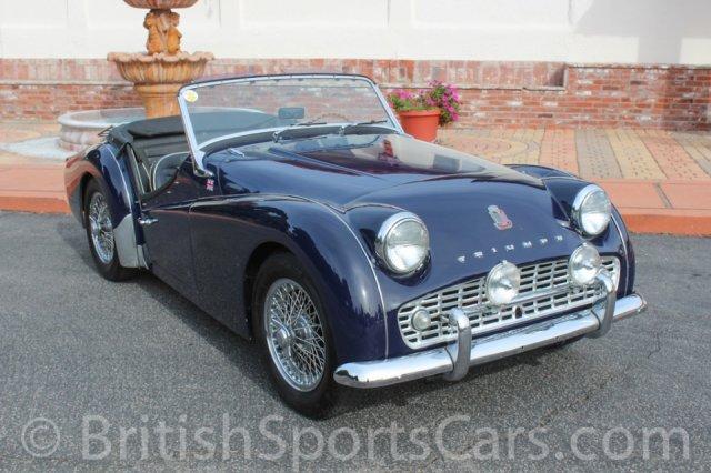 British Sports Cars car search / 1958 Triumph TR3 A  / British Sports Cars / San Luis Obispo / CA / 93401