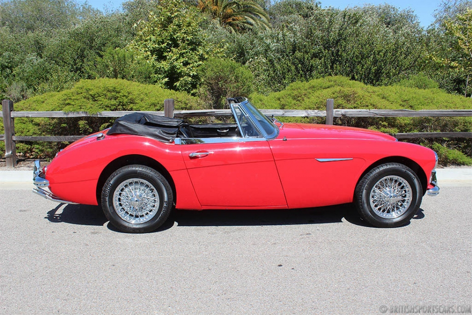 british sports cars 1966 austin healey 3000 for sale british sports cars san luis obispo ca. Black Bedroom Furniture Sets. Home Design Ideas
