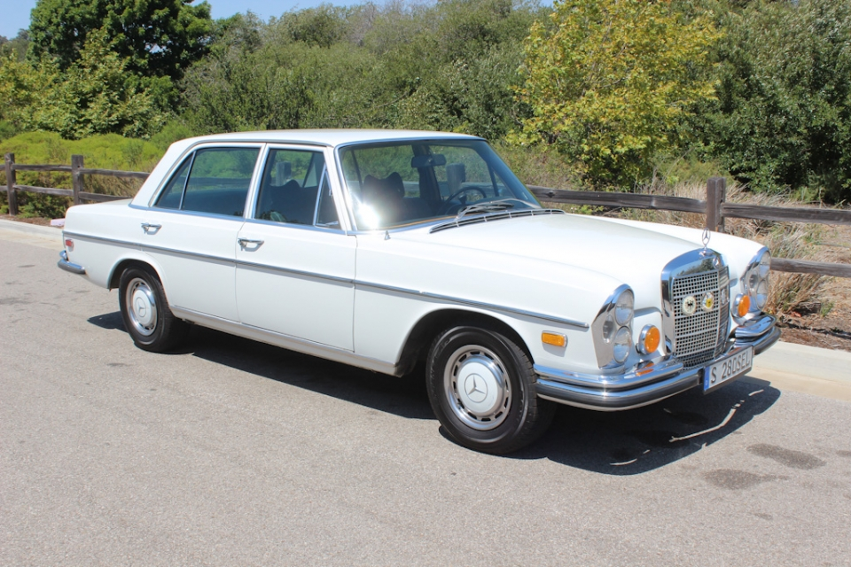 British Sports Cars car search / 1972 Mercedes-Benz 280 SEL